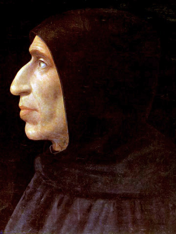 Dominican friar, Girolamo Savonarola