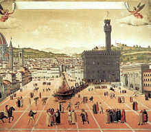 The execution of Savonarola 1498