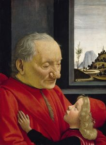 'Boy with his Grandfather' Domenico Ghirlandaio – 1490